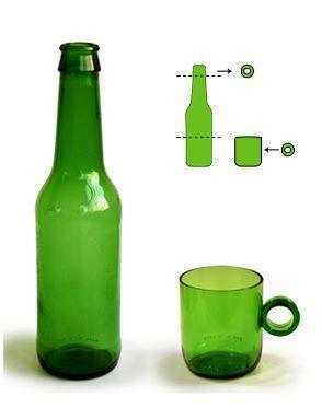 Reciclar botellas for What to make with old wine bottles
